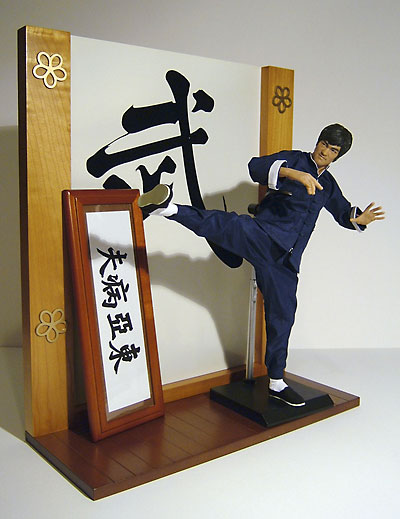 Fist of Fury Bruce Lee action figure by Enterbay