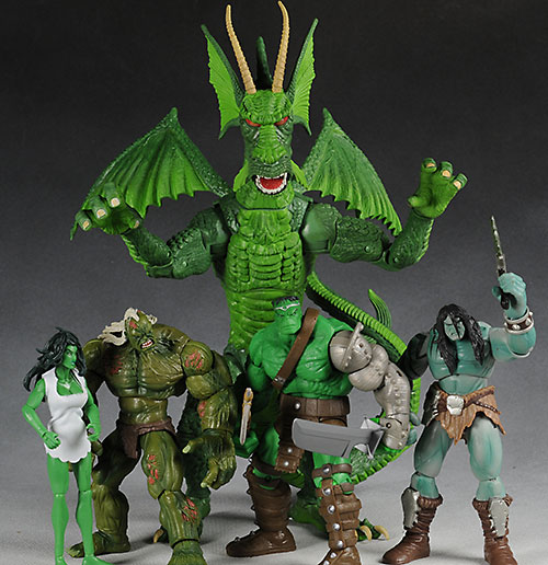 Marvel Legends Hulk wave action figures