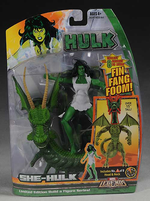 Marvel Legends Hulk wave She Hulk action figure