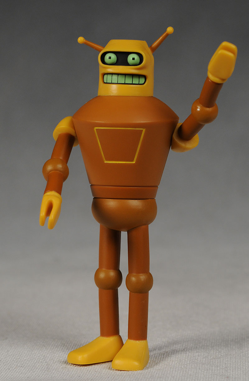 Futurama wave 5 Caculon action figure from Toynami