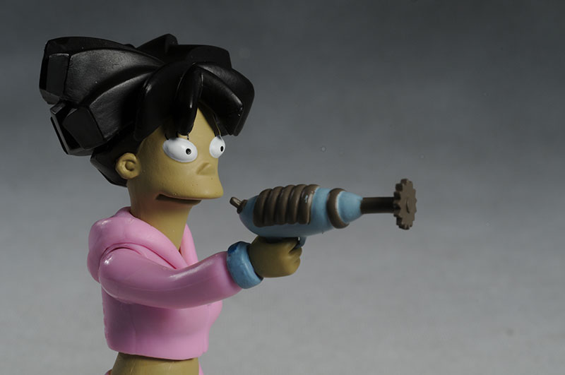 Futurama series 6 Amy Wong and Clobberella action figures by Toynami