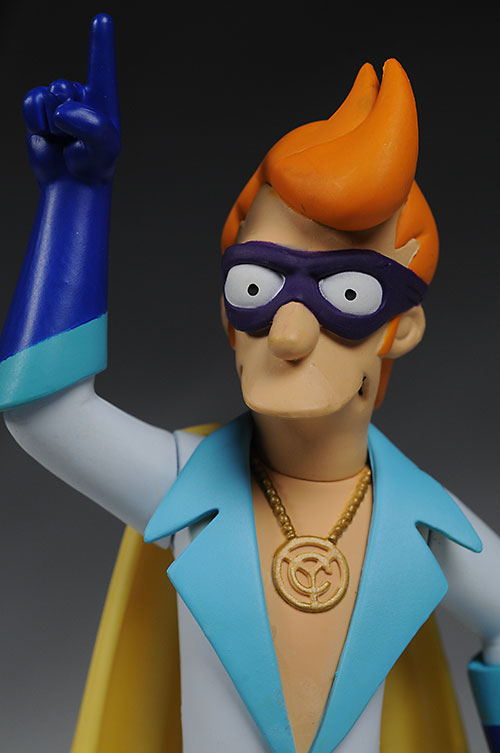 Futurama Captain Yesterday action figure