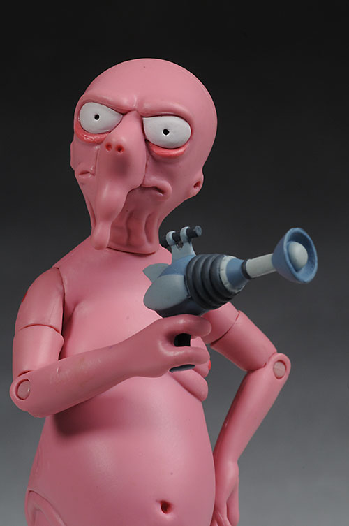 Futurama Nudar action figure