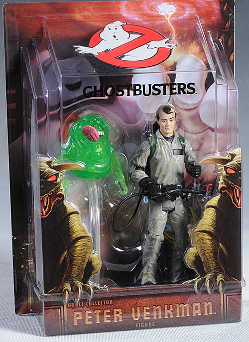 Peter Venkman Ghostbusters action figure by Mattel