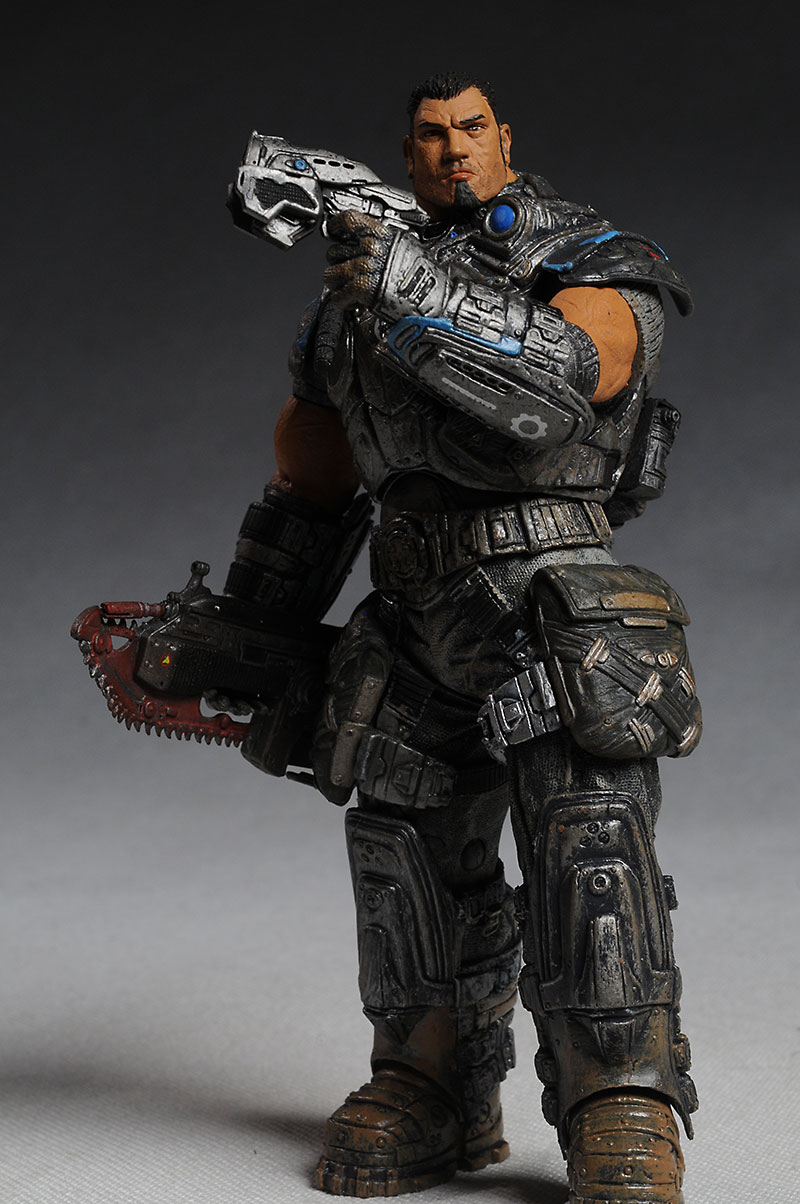 NECA Gears of War action figures