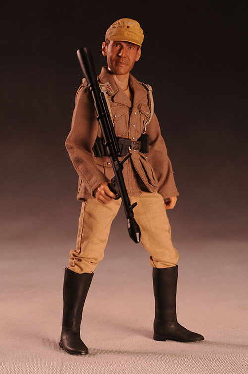 Indiana Jones in German outfit disguise action figure by Sideshow Collectibles