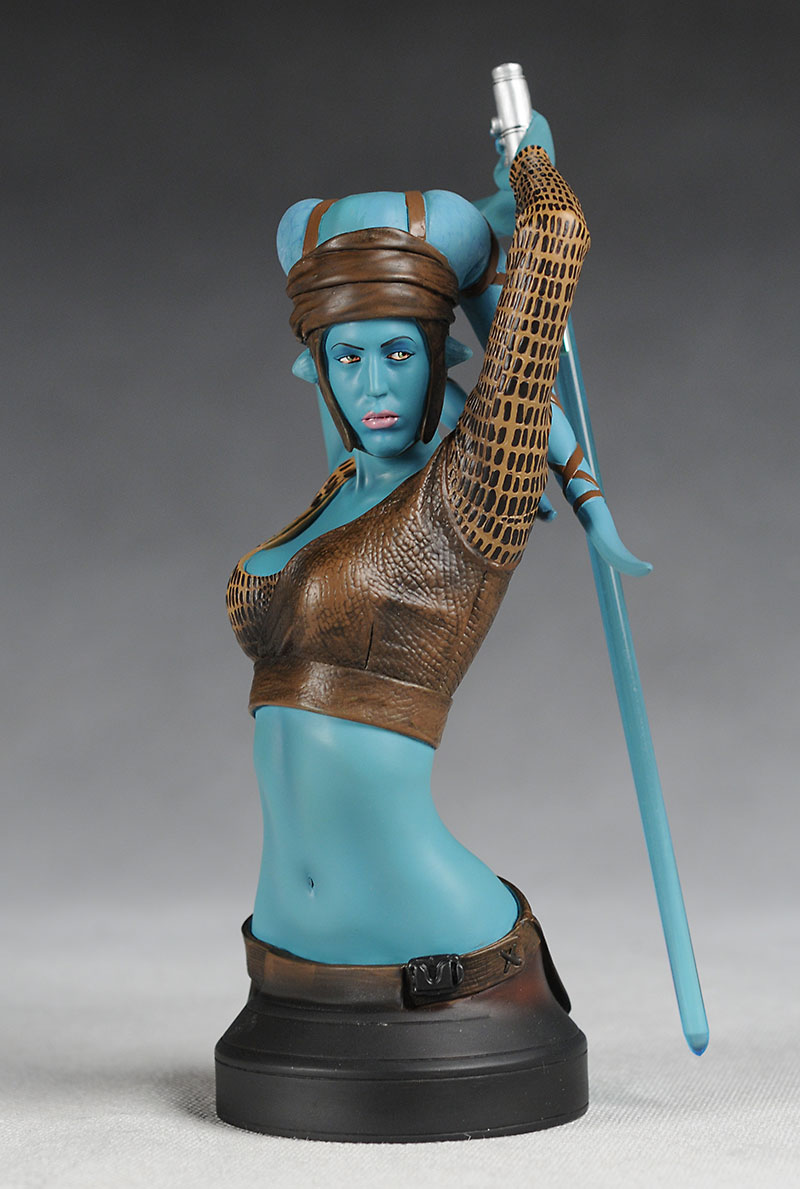 Gentle Giant Star Wars Aayla Secura mini-bust