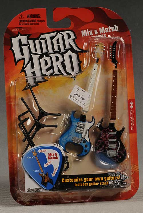 Guitar Heroes Guitars from McFarlane Toys