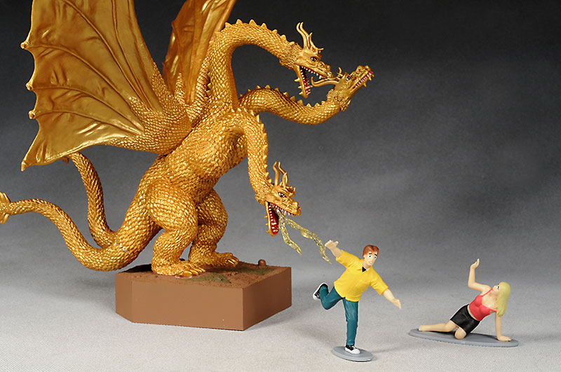 Far East Monsters Godzilla King Ghidorah action figures