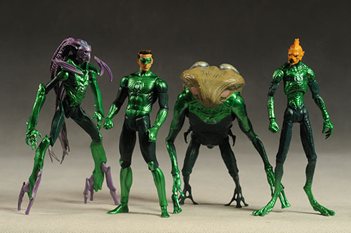 Green Lantern Movie Masters action figures by Mattel