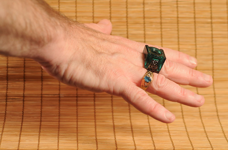 green lantern ring prop. Green Lantern Movie Ring - Key