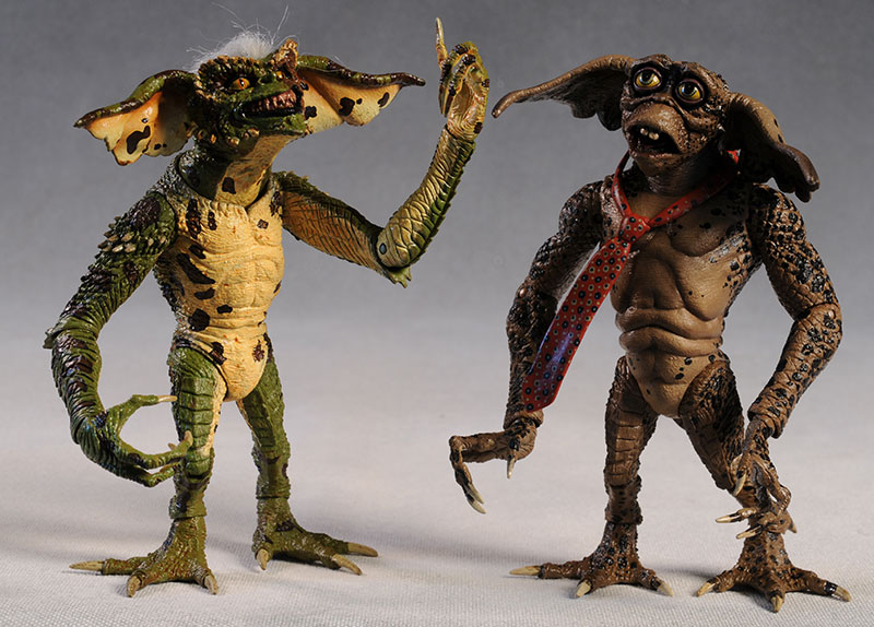 Gremlins series 2 Lenny and Phantom action figures by NECA