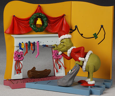 how the grinch stole christmas action figure another pop culture collectible review by michael crawford captain toy