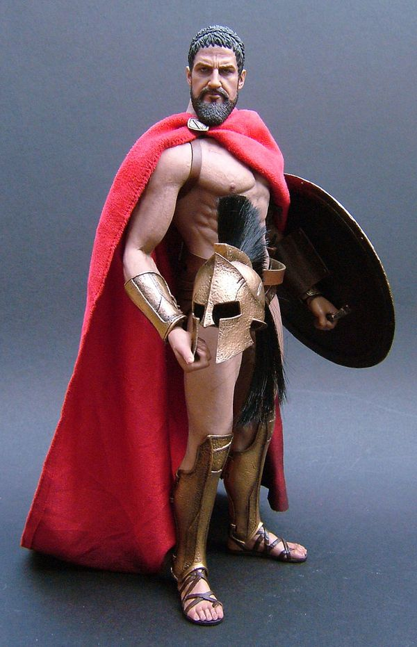 300 King Leonidas sixth scale action figure by Hot Toys