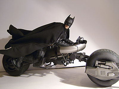 Dark Knight Bat Pod vehicle by Hot Toys