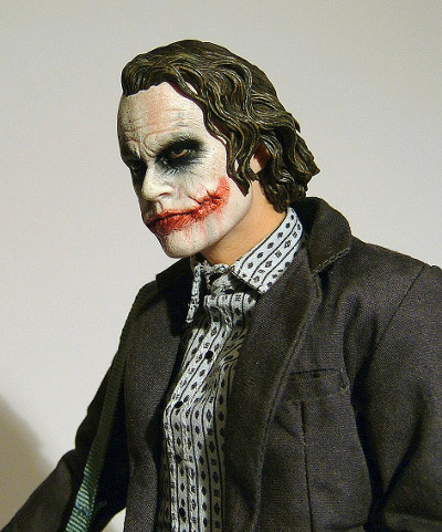 Dark Knight Bank Robber Joker action figure by Hot Toys