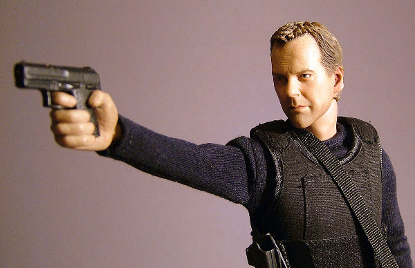Jack Bauer action figure by Enterbay