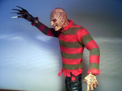 Freddy Krueger Dream Warrior action figure Cinema of Fear by Mezco Toyz
