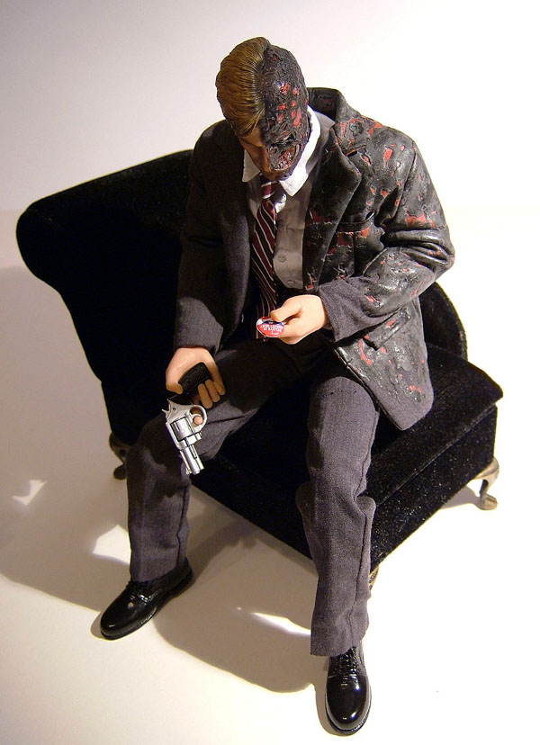 Dark Knight Two Face action figure by Hot Toys