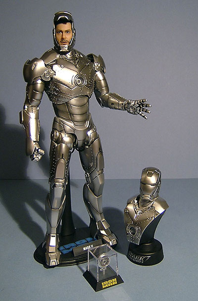 Iron Man Mark II action figure by Hot Toys