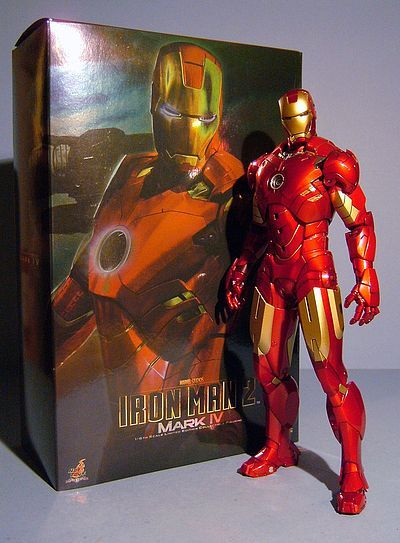 Iron Man Mark IV sixth scale action figure by Hot Toys