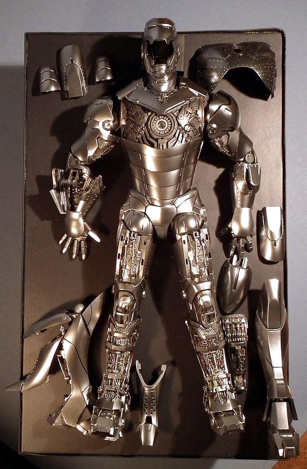 Iron Man Suit Design Specs