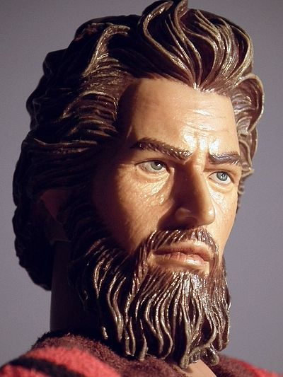 Moses action figure by JCL toys