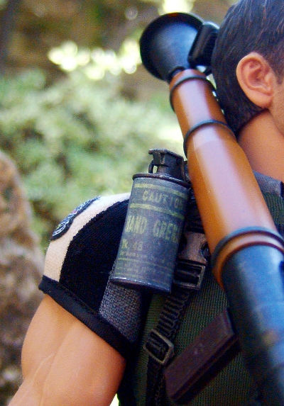 Hot Toys- Resident: Evil 5- Chris Redfield (BSAA version)