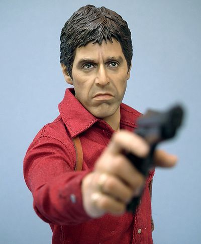 Scarface action figure by Blitzway