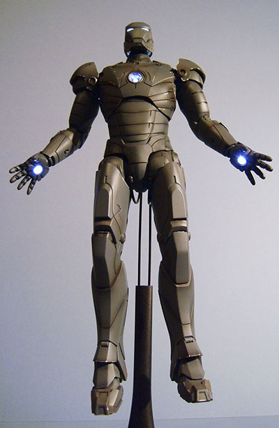 Silly Thing Iron Man action figure by Hot Toys
