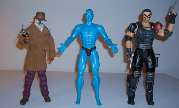 Watchmen movie sixth scale action figures from DC Direct