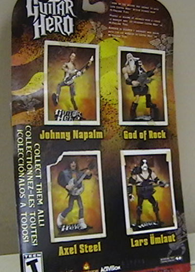 Guitar Hero action figures
