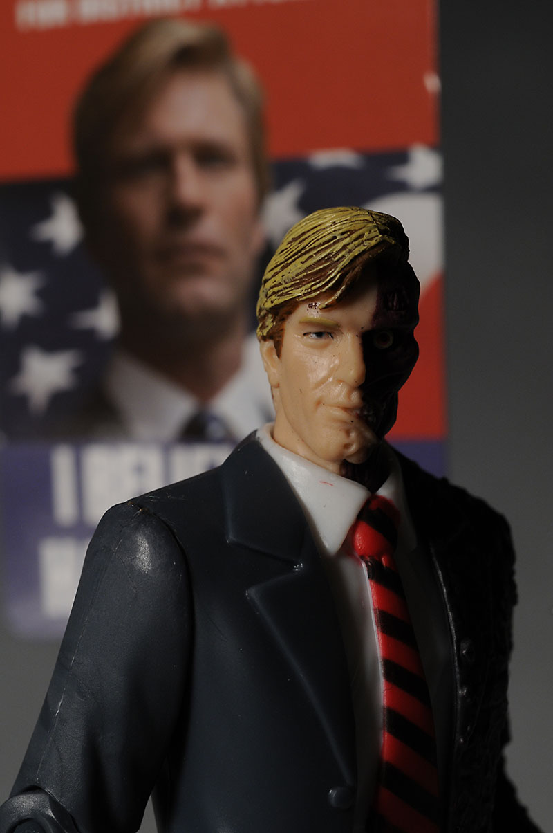 Harvey Dent Dark Knight action figure from Mattel