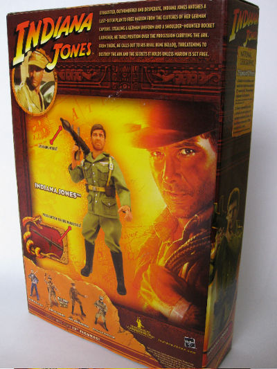 Indiana Jones in German disguise action figure froim Hasbro