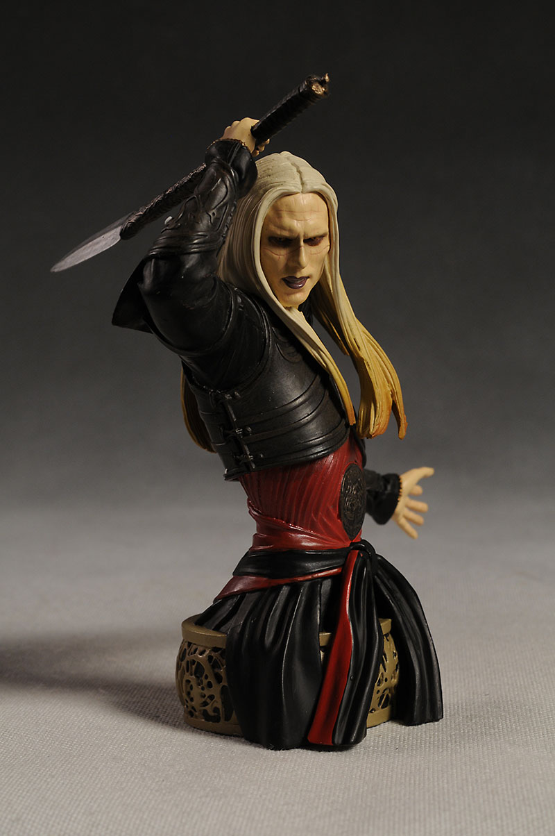 Hellboy II Hellboy and Prince Nuada mini-busts by Gentle Giant