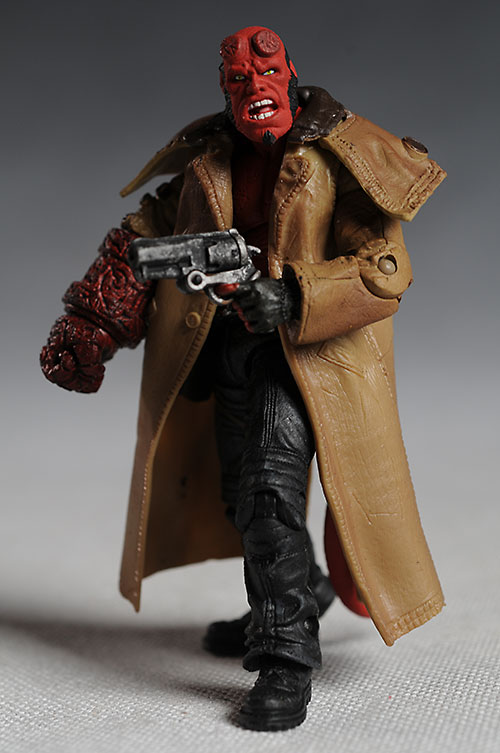 "Hellboy II Mezco 3 3/4"" action figures"