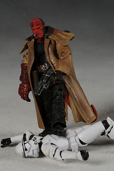 Hellboy II Hellboy action figure from Mezco