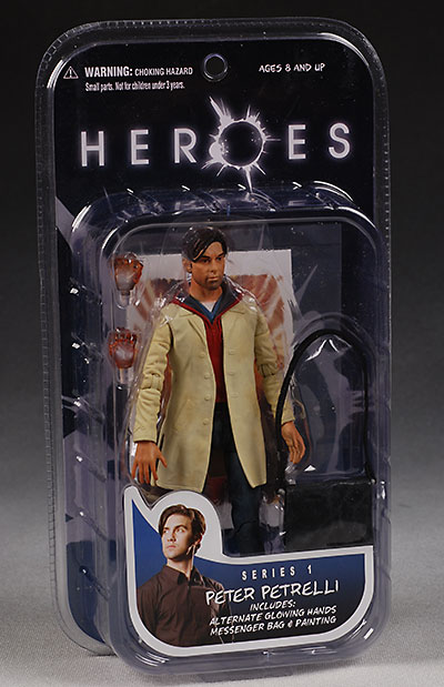 Mezco Heroes series 1 packaging action figure