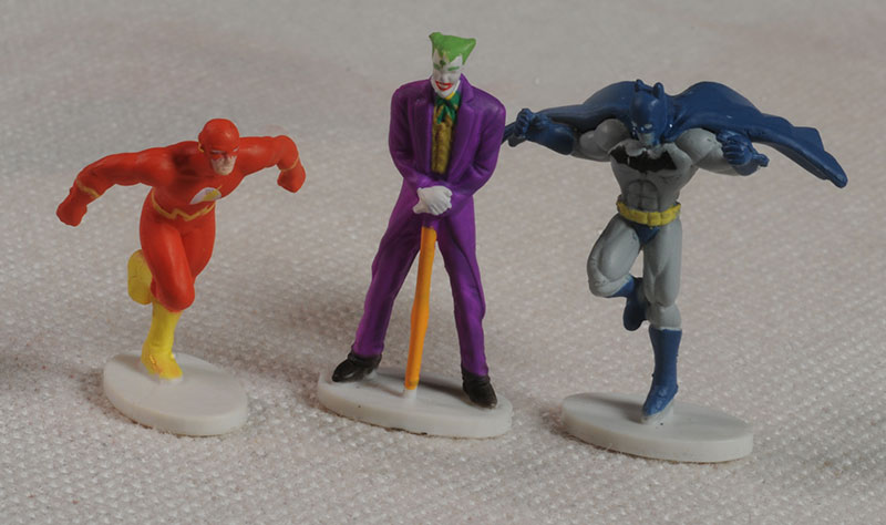 Heroics DC mini action figures by Treehouse Kids