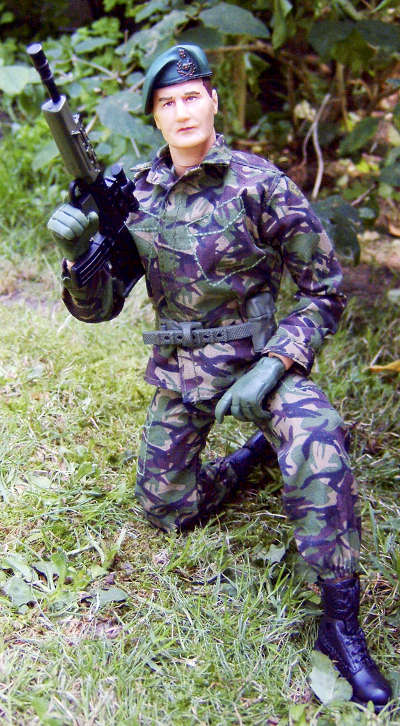 HM Forces action figures by Character Options