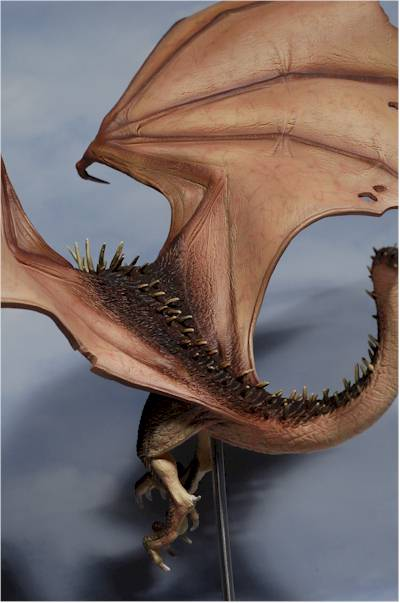 Harry Potter Horntail Dragon Statue Another Toy Review