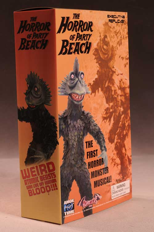 Horror of Party Beach sixth scale action figure by Amok Time