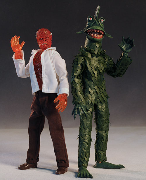 Hideous Sun Demon and Horror of Party Beach sixth scale action figure by Amok Time
