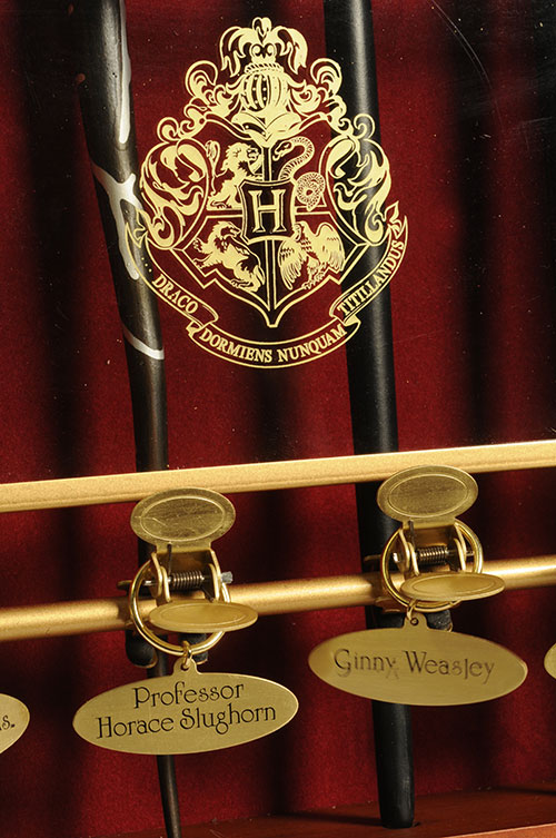 Harry Potter collectible wands by Noble Collection