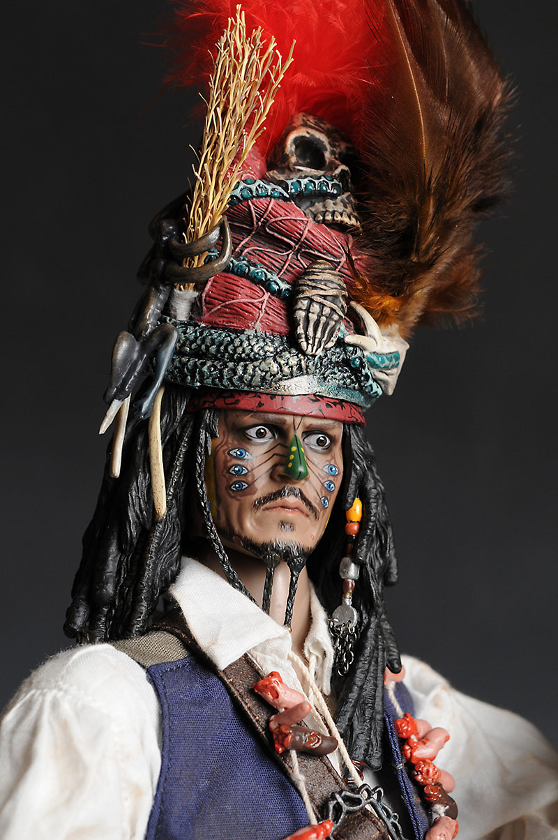 Cannibal Jack Sparrow action figure by Hot Toys