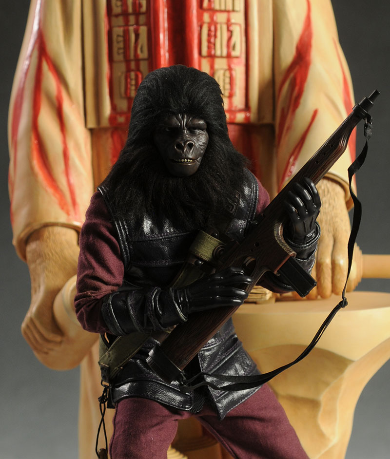 Planet of the Apes Gorilla Soldier sixth scale action figure by Hot Toys