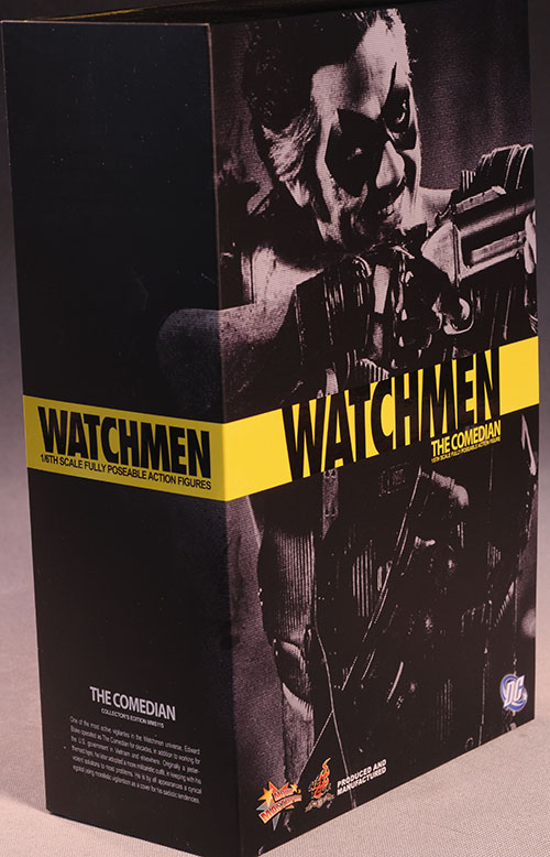 Comedian Watchmen sixth scale action figure from Hot Toys