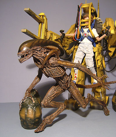 Dog Alien action figure from Hot Toys