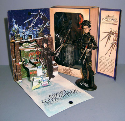Edward Scissorhands sixth scale action figure by Hot Toys