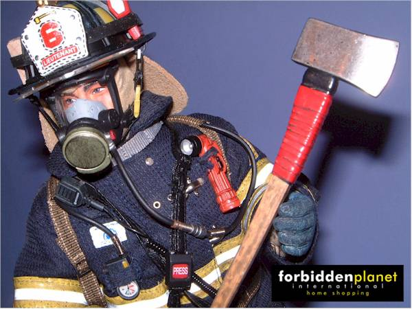 sixth scale fire fighter action figure another pop culture review